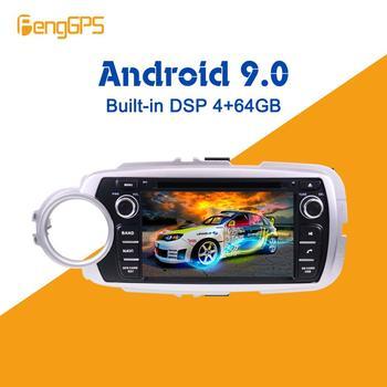 For Toyota Yaris 2013 2014 - 2017 Car Multimedia Player Android IPS Screen Audio Radio Stereo autoradio GPS Navigation Head unit