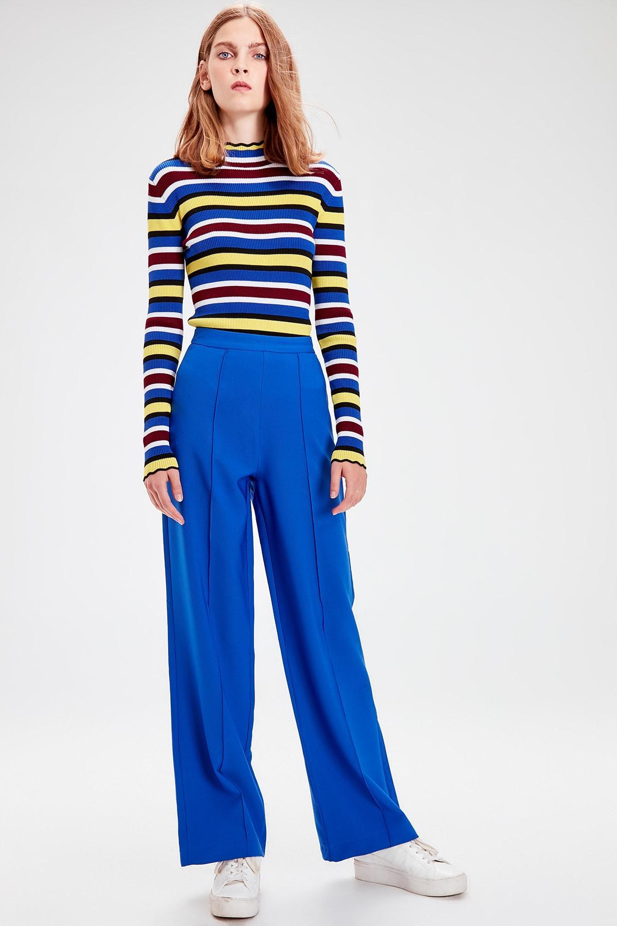 Trendyol Saks Basic Pants TWOAW20PL0194