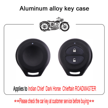Aluminum Indian Motorcycle Key Shell Suitable for Chiefs Key Case Dark Horse Key Case Boss Keychain Road Master Protective Shell фото