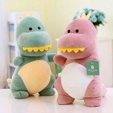 New big teeth dinosaur plush stuffed animal toys Kawaii children cute dolls birthday gift 25CM 1PCS