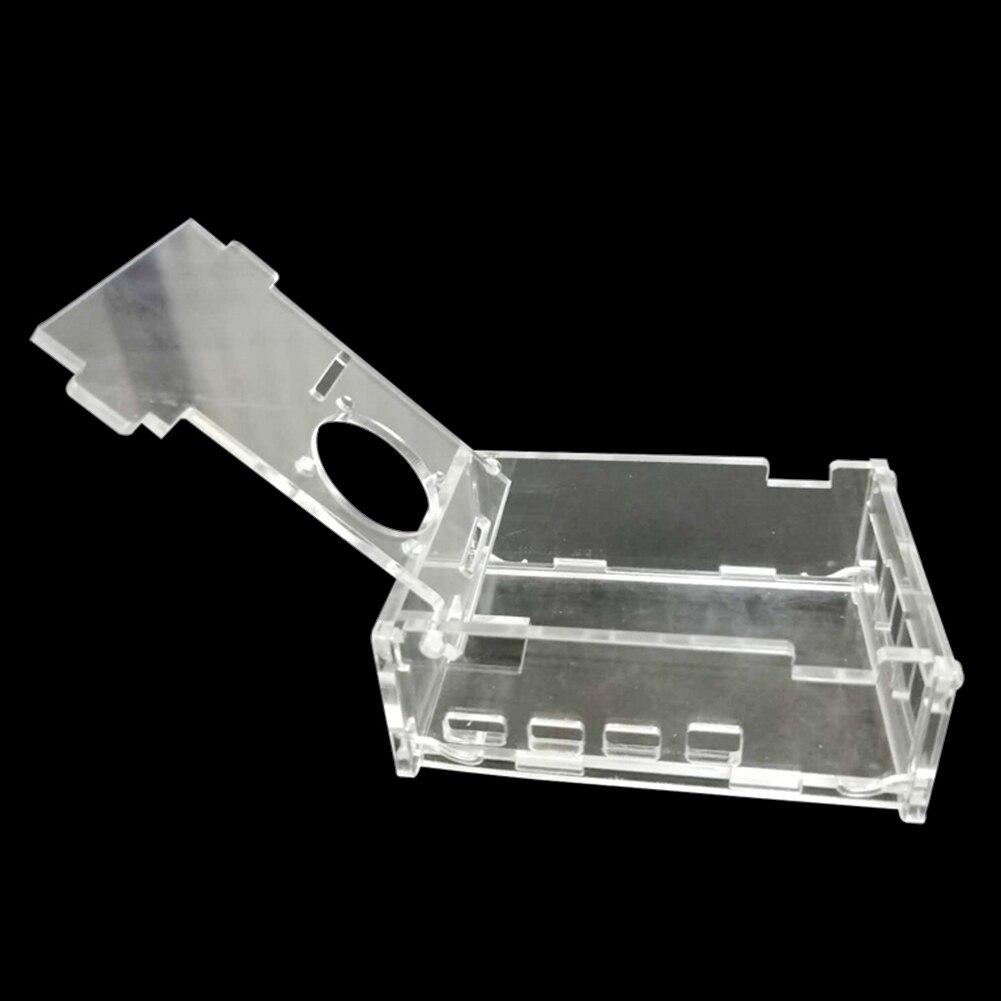 4 pcs for Raspberry Pi 4 Model B Pastall Raspberry Pi 4 Alluminum Case Metal Box with Fan and Heat-Sinks