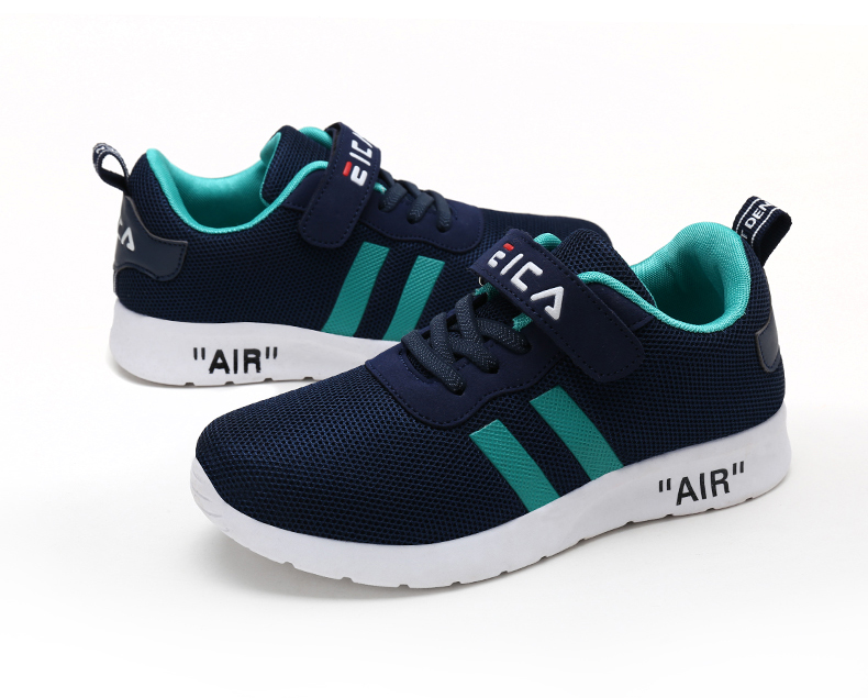 Kids Fashion Sneakers Boys Girls Sports Running Shoes Breathable Mesh Tennis Shoes Soft Lightweight Children Casual Walking Shoe
