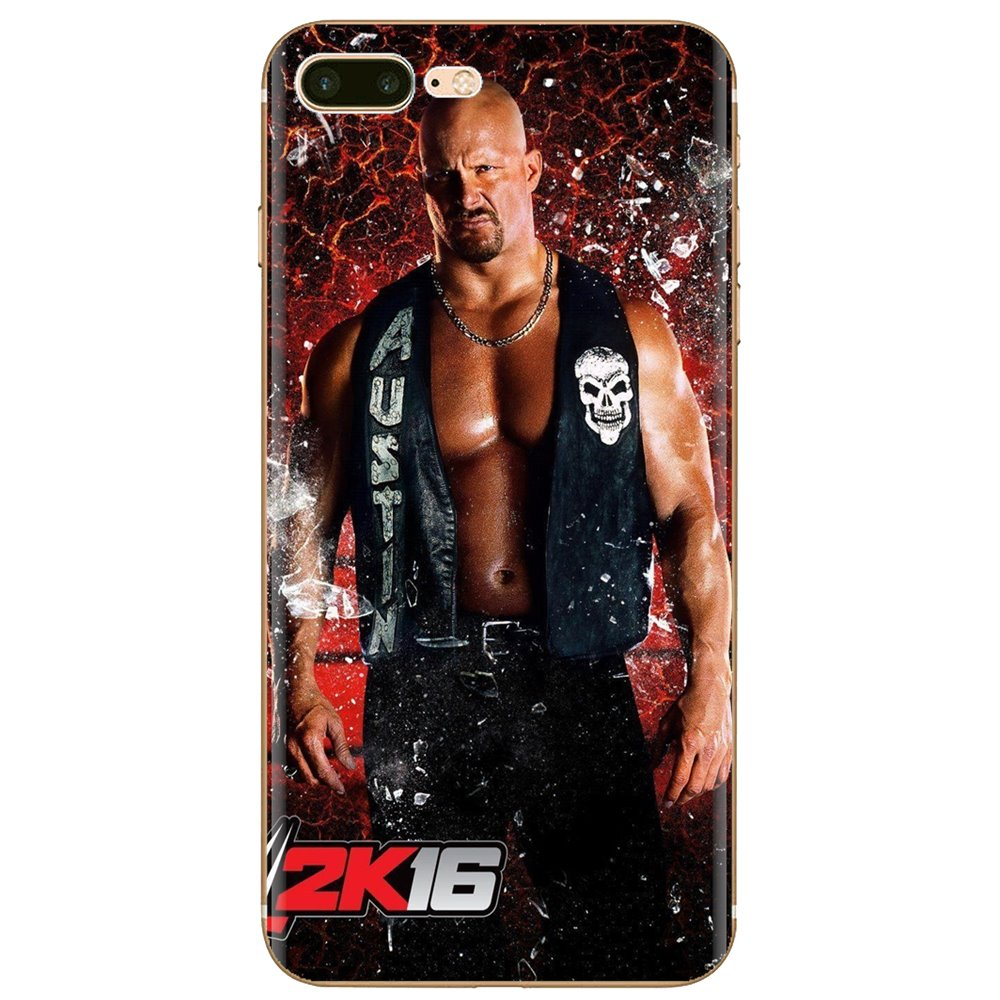 Stone Cold Steve Austin Wallpaper Silicone Phone Case Cover For