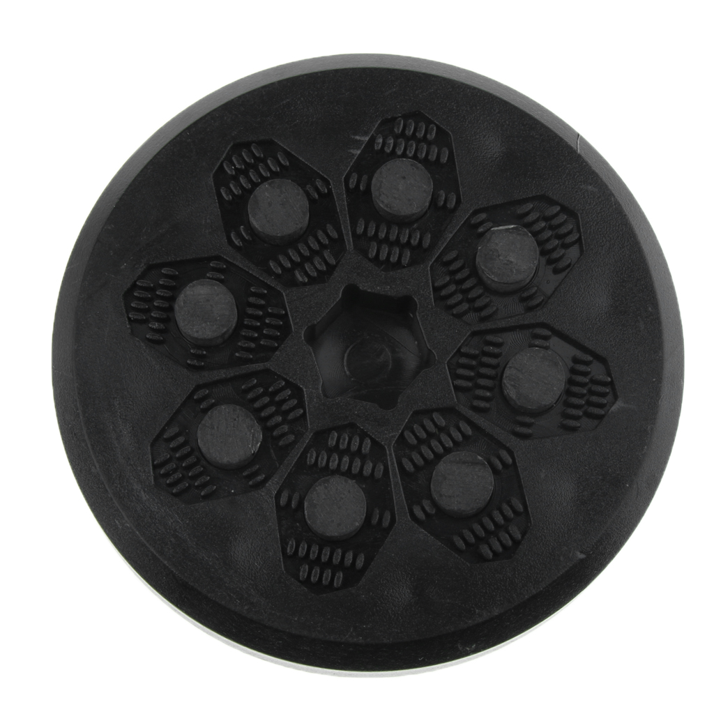1 Pcs Top Quality Slide Puck Round Shape Flintstone With Super Cool Flames For Skateboard Longboard Free Ride Gloves Adult