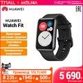 смарт часы HUAWEI Watch Fit ,GPS. AMOLED-экран 1,64 дюйма|Мониторинг сна[Ростест, Доставка от2 дней,Официальная гарантия]Molnia