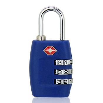 Zamek główny PC TSA zamki inteligentny zamek szyfrowy na bagaż podróżny walizka antykradzieżowa kłódka kodowana blokada hasła celnego tanie i dobre opinie Rohs CN (pochodzenie) TSA335