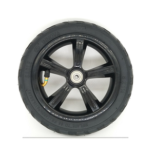 """Image 2 - 1 pc 8"""" 8X1 1/4 (200*45) Pneumatic Tire Inflatable Full Wheel For Electric Scooter Full Round Wheel"""