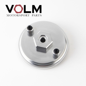 Image 2 - auto Aluminum oil filter adapter for oil pressure and oil temperature for bmw e46 e36 e34 car accessories cap03