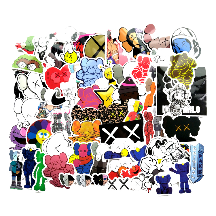 65Pcs/lot Sesame Street Cute Cartoon 2019 Toy Stickers Decorate The Cartoon For Snowboard Laptop DIY Styling Vinyl Home Decor