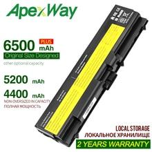 ApexWay 6 ячеек Аккумулятор для ноутбука lenovo ThinkPad L510 L512 L520 L530 SL410 SL510 T510 T510i T410 T410i T420 T420i T430 T430i