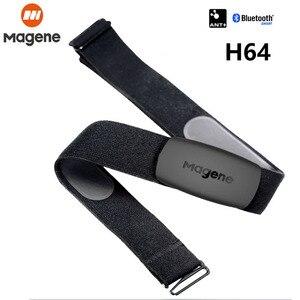 Image 1 - Magene H64 MHR10 Bluetooth4.0 ANT + معدل ضربات القلب الاستشعار متوافق GARMIN Bryton IGPSPORT الكمبيوتر تشغيل الدراجة مراقب معدل ضربات القلب