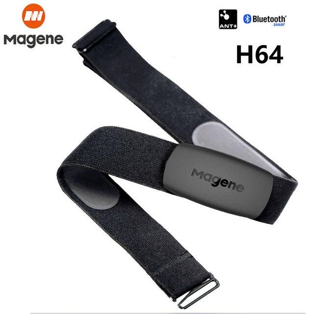 Magene H64 MHR10 Bluetooth4.0 ANT + معدل ضربات القلب الاستشعار متوافق GARMIN Bryton IGPSPORT الكمبيوتر تشغيل الدراجة مراقب معدل ضربات القلب
