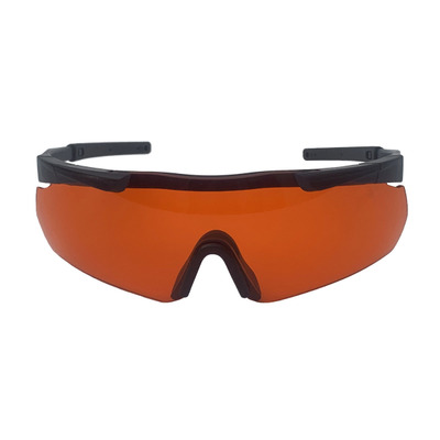Impact and fog resistant tactical protective eyepiece 1064nm 532nm laser radiation proof helmet military fan glasses