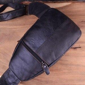 Image 5 - AETOO torby męskie skórzana torba na ramię mężczyźni torba typu Sling na klatkę piersiową torby Crossbody dla mężczyzn torba na klatkę piersiowa skórzana