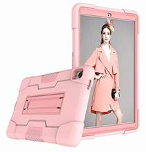 Case Huawei Mediapad M6 8.4 with Built-in Screen Protector 360°  Protective Cover Silicone+PC Shock Proof Case with Kickstand ezpad 6 m6 protective leather case with kickstand black