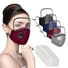 Scarf Facemask Maskswashable Reusable And Dot Print Mondkapjes Stripe Cotton Wasbaar