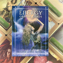Energy Oracle English Tarot Card Cards Playing Card Deck Table Board Games For Party Divination Guidance Fate Entertainment