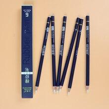 NYONI резиновая ручка ластик карандаш ручка резиновый наконечник Тип 6 шт./компл. Высокая точность карандашный ластик для манга выделить товары для рукоделия N2810