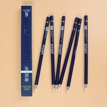 NYONI Rubber Pen Eraser Pencil Pen Tip Rubber Type 6pcs/set High Precision Pencil Eraser For Manga Highlight Art Supplies N2810