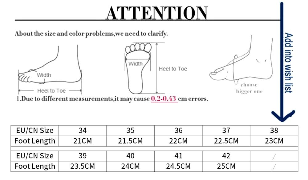 水果拖鞋尺码表