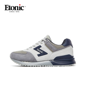 ETONIC Retro Sneakers Men's Breathable Running Shoes Light Shockproof Sports Jogging Shoes Men Air Mesh Trainers Max Size 44