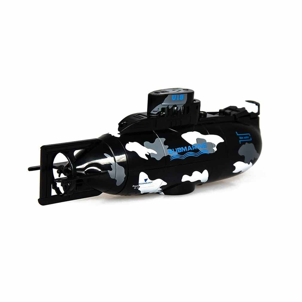 2019 Wireless Mini RC เรือดำน้ำดำน้ำลอยเรือดำน้ำเด็กฤดูร้อนของเล่นชาร์จจำลองของเล่นรีโมทคอนโทรล