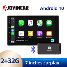 Radio Multimedia con GPS para coche, Radio con reproductor, Android 10,0, 7 pulgadas, estéreo, Bluetooth, Carplay, DSP, 2Din, Wifi