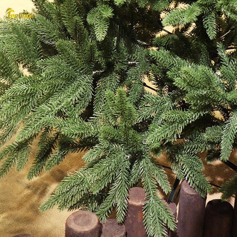 Teellook 1,2 m/3,6 m PE verschlüsselung Weihnachten baum Weihnachten Hotel shopping mall hause dekoration ornamente - 4