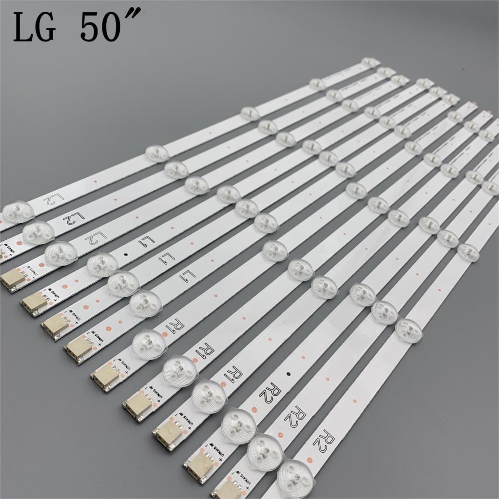 Striscia di retroilluminazione a LED per 50LN5100 50LA6200 50LN5200 50LN575 LC500DUE 50LN542 50LN5400 50LA613 50LN5700 50LA621