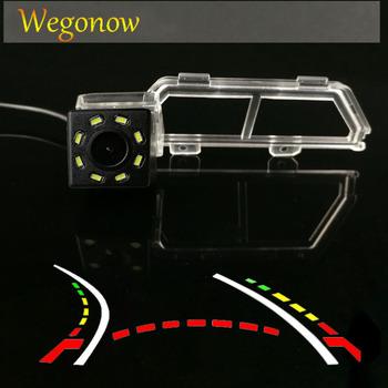 Dla Toyota Verso 2011 + HD bezprzewodowy samochód CCD tylna kamera Fisheye 12 led dynamiczny noktowizor uchwyt wodoodporna kamera parkowania tanie i dobre opinie SKYSHADOW Plastikowe + Szkło wireless Drutu Tył ACCESSORIES Z przodu Front Side Pojazd backup kamery Z tworzywa sztucznego