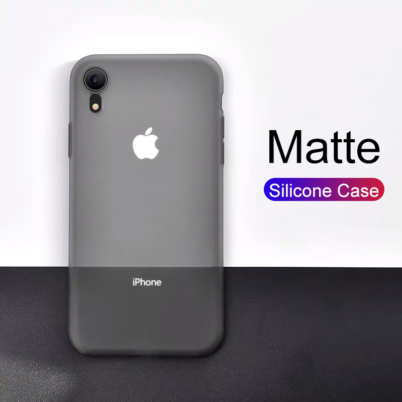 Luxury Silicone Soft Case For Iphone Se 2020 5 5s 7 8 6s 6 Plus Transparent Matte Case For Iphone 11 Pro Xs Max X Xr Ultra Thin