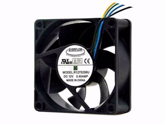 Detectorcatty Computer PC Fan 80mm with LED 8025 Silent Cooling Fan 12V LED Luminous Chass Computer Case Cooling Fan Mod Easy Installed