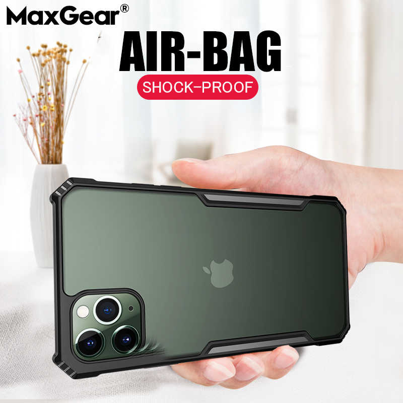 Luxury Shockproof Phone Case For iPhone X XS XR 11 Pro Max Soft Transparent Case Cover For iPhone 6 6s 7 8 Plus Soft Bumper Case
