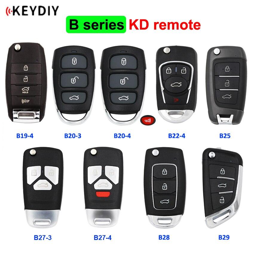 KEYDIY B series KD remote control B19 4 B20 3 B20 4 B22 4 B25 B28 B29 for KD900/URG200/mini KD/KD X2/KD900+ generate new keys|Car Key| - AliExpress