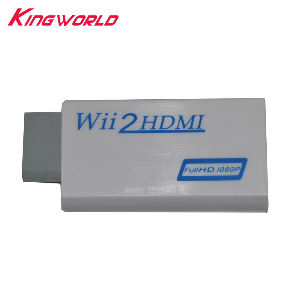 For Wii To HDMI Adapter Converter Support 720P 1080P 3.5mm Audio For W-II 2 HDMI
