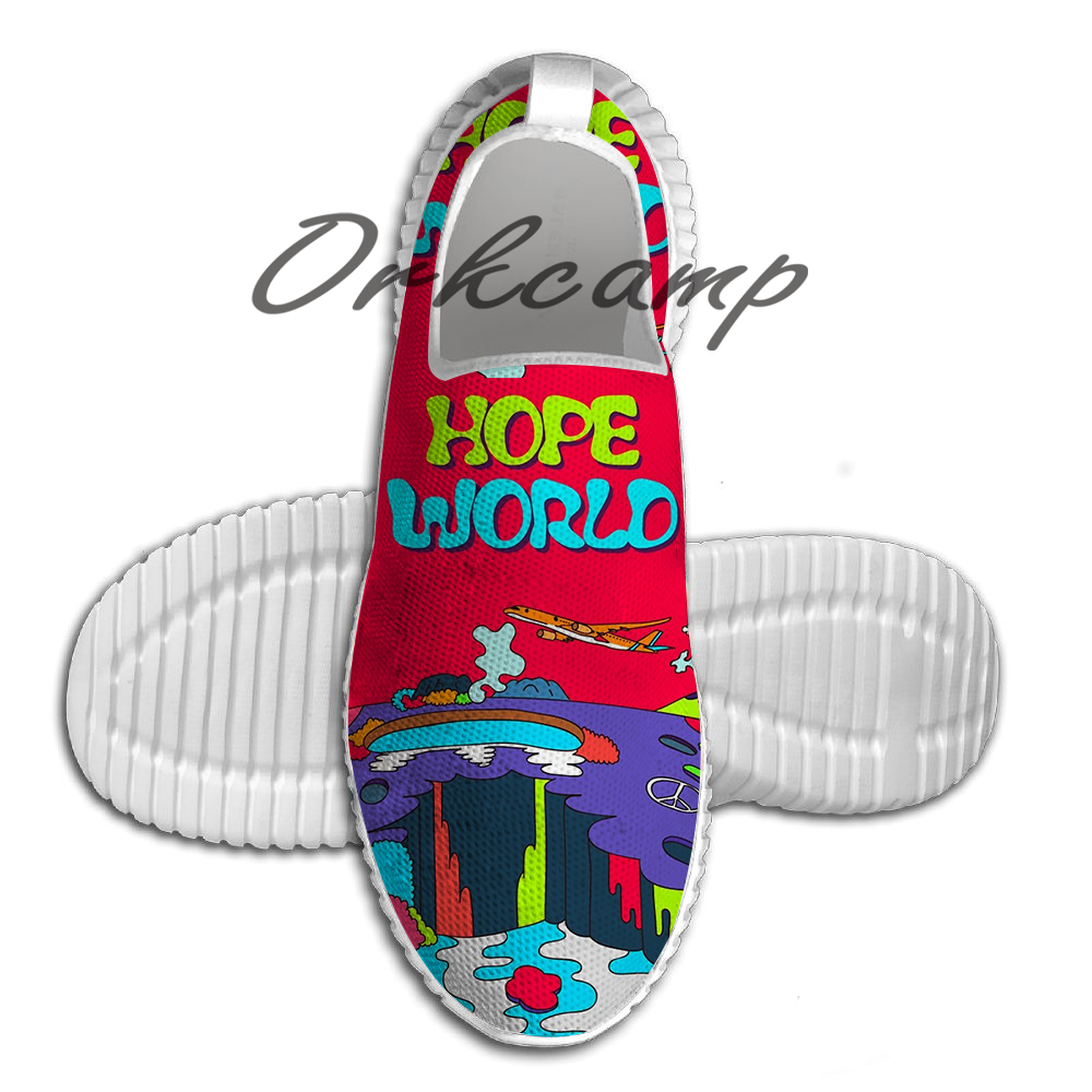 MUSIC BTS J HOPE HOPE WORLD HIXTAPE Running Shoes Walking Shoes  Summer Comfortable Light Weight Jogging Yoga Shoes