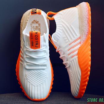 Lekkie wysokiej klasy damskie trampki modne męskie buty płaskie damskie buty modne buty buty terenowe obuwie buty deskorolkowe 2020 tanie i dobre opinie LINLING CN (pochodzenie) RUBBER Lace-up Pasuje prawda na wymiar weź swój normalny rozmiar Spring2019 LEISURE Finał evo