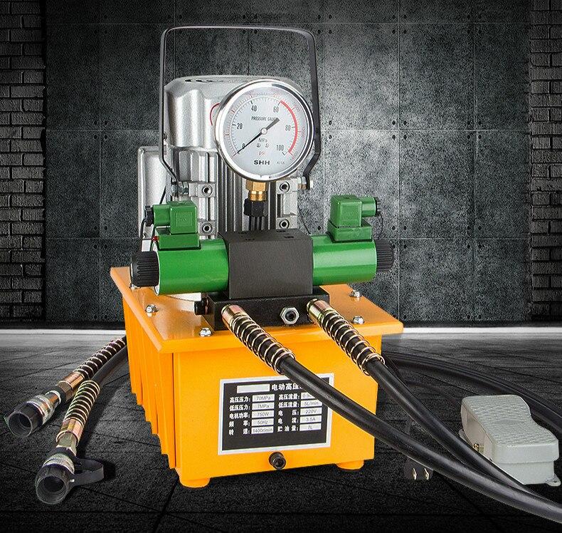 DB075-D2   ZCB-700AB-2 Hydraulic Electric Pump 750W Double Acting Hydraulic Driven Pump 110V  220V 380 7L