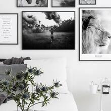 Скандинавский плакат цветы фотография холст картина фотографии