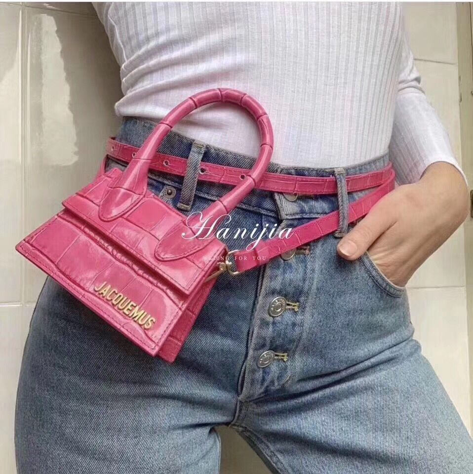High Quality Brand Designer Leather Handbag Skew Bag in 2019