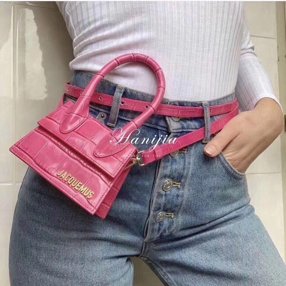 High Quality Brand Designer Leather Handbag Skew Bag In 2019