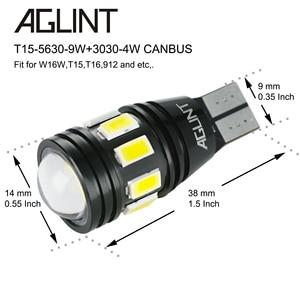 Image 4 - AGLINT 2PCS T15 W16W 912 921 LED Bulbs CANBUS No Error LED 5630 3030 SMD For Car Back Up Light Reverse Lights White 6000k 12 24V