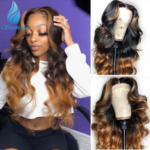 SHD 13*6 Lace Front Wigs With Baby Hair 150% Density Brazilian Remy Human Hair Glueless Lace Wigs with Middle Part Remy Hair