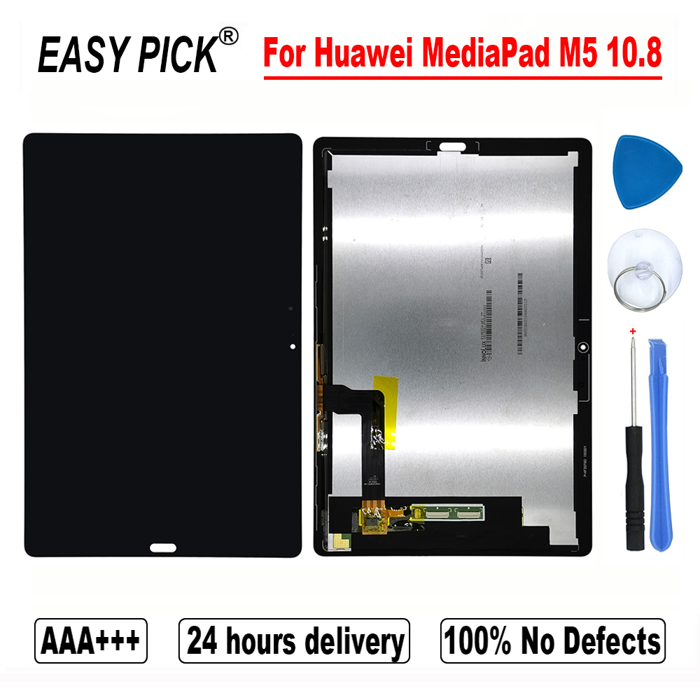 For Huawei MediaPad M5 10.8 CMR-AL09 CMR-W09 LCD Display Touch Screen Digitizer Assembly Free Tools