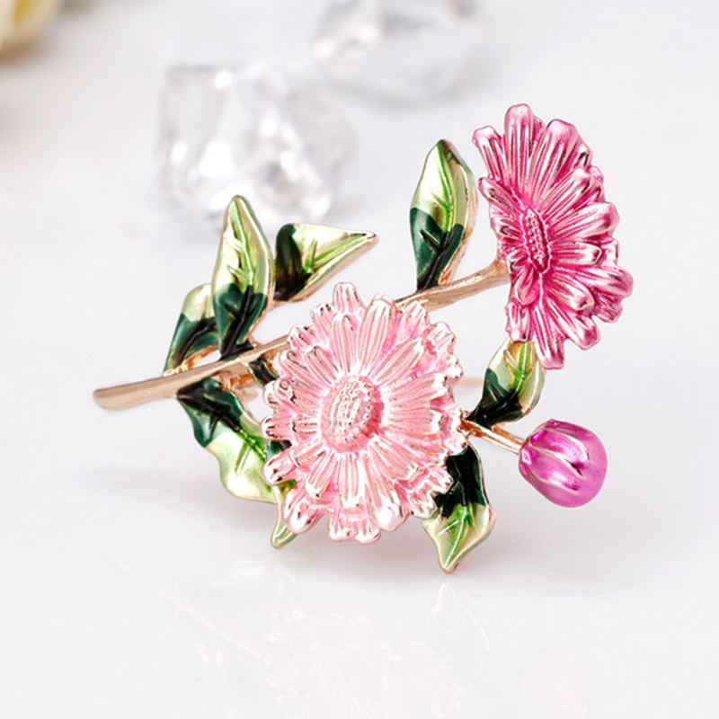 Floral Costume Jewellery Silver Birthday Christmas Gift REAL FLOWER ACCESSORY
