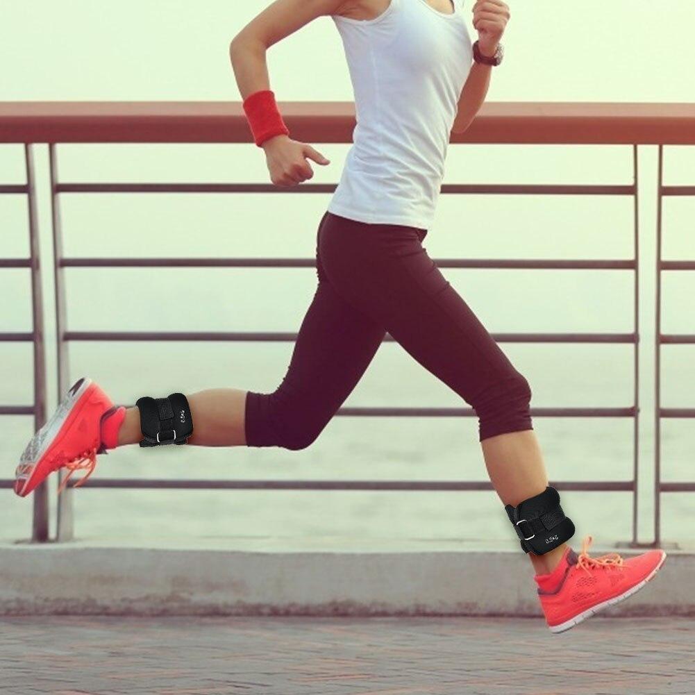 1 par Running Exercício Pulso Tornozelo Saco