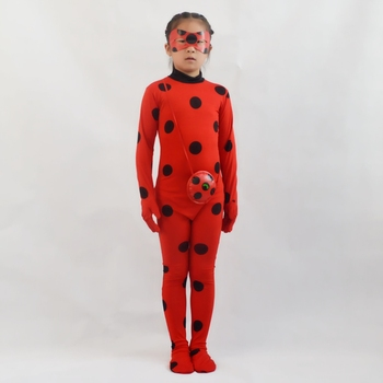 Dorosłych dzieci Fantasia Lady Cosplay Bug kostium czarny kot Noir pełny zestaw kostium na halloween pani elastan Marinette Bug Zentai garnitur tanie i dobre opinie ZCMLLN Kombinezony i pajacyki Film i TELEWIZJA Dziewczyny Zestawy Other BC-001 spandex Kostiumy