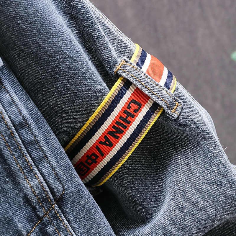 2020 Весенняя Мужская одежда, классическое ностальгическое джинсовое пальто, Европейская и американская мода, мужская куртка, место происхождения, поставка товаров Ty8004