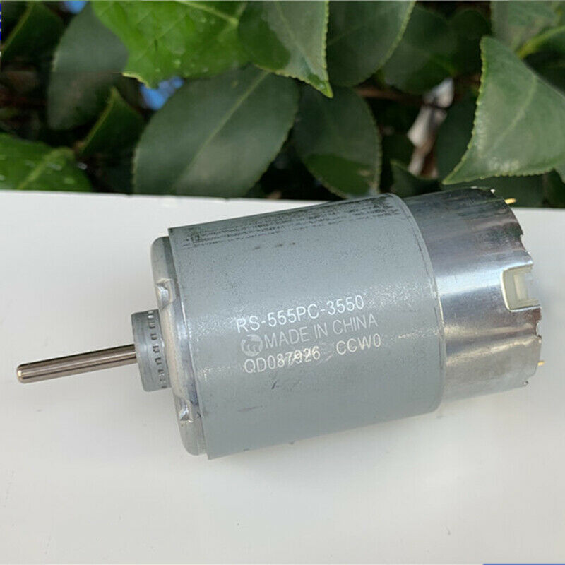 MABUCHI <font><b>RS</b></font>-555PC-3550 DC 12V~30V 18V 24V 9600RPM Micro <font><b>RS</b></font>-<font><b>555</b></font> Carbon Brush Motor ss image
