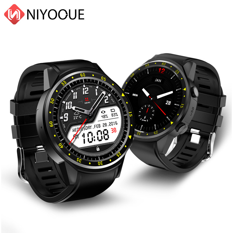 NIYOQUE F1 Smart Watch Band GPS Positioning Anti-lost Heart Rate monitor Sports Outdoor Tracker Wristwatch With SIM Card image